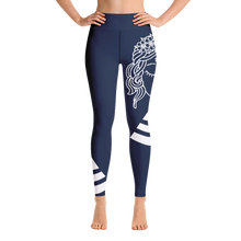 Load image into Gallery viewer, Yoga Leggings Budah Bless Blue