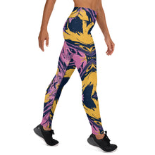 Load image into Gallery viewer, Yoga Leggings Purple Haze 2