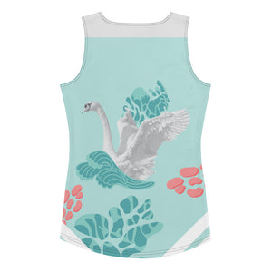 Sublimation Cut & Sew Tank Top Swan