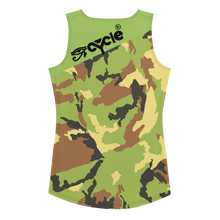 Load image into Gallery viewer, Eye Cycle Camo Cut & Sew Tank Top