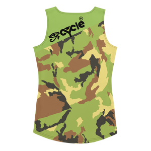 Eye Cycle Camo Cut & Sew Tank Top