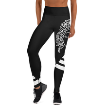 Load image into Gallery viewer, Yoga Leggings Budah Bless Black