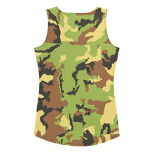 Load image into Gallery viewer, Sew Tank Top Camo Fist