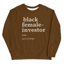 Load image into Gallery viewer, Brown Investor Unisex Sweatshirt