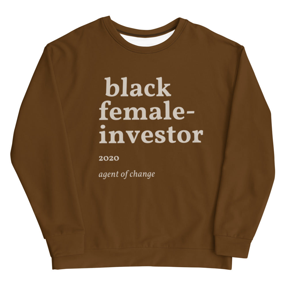 Brown Investor Unisex Sweatshirt