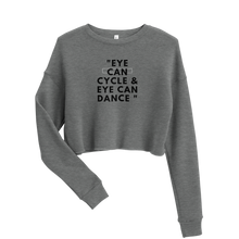 Load image into Gallery viewer, Eye Can Cycle - Crop Sweatshirt