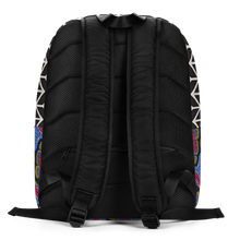 Load image into Gallery viewer, Zag Zig Color Flow Blue Backpack