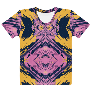 Yellow & Purple Haze T Shirt