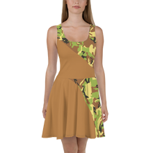 Load image into Gallery viewer, Skater Dress Half Camo