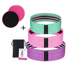Load image into Gallery viewer, Resistance Bands Set Sport Elastic Loop Booty Band Expander Anti Slip Hip Fitness