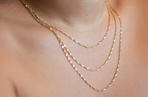 Luxe Gold Chain Set