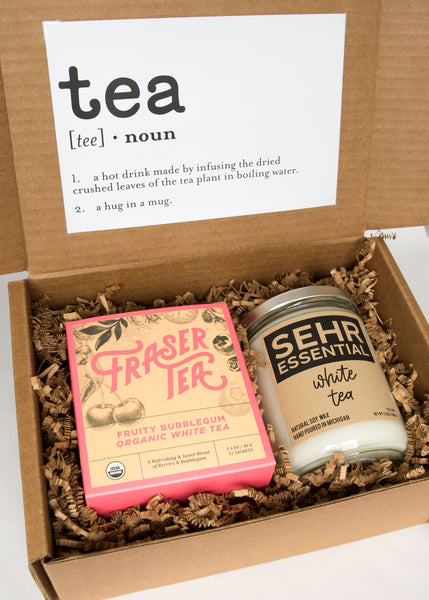Tea & Candle Box