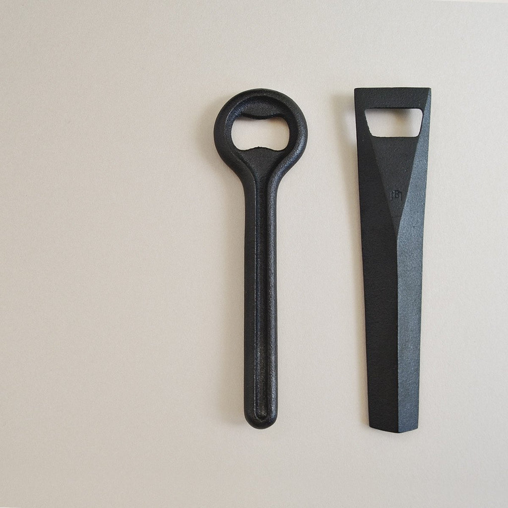 Bottle Opener - Nanbutekki Cast Iron   南部鉄器 栓抜き