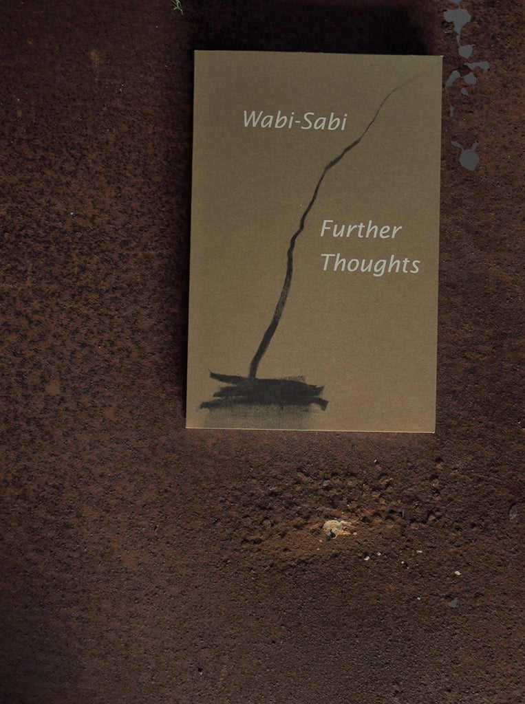 Wabi-Sabi book   Further Thoughts