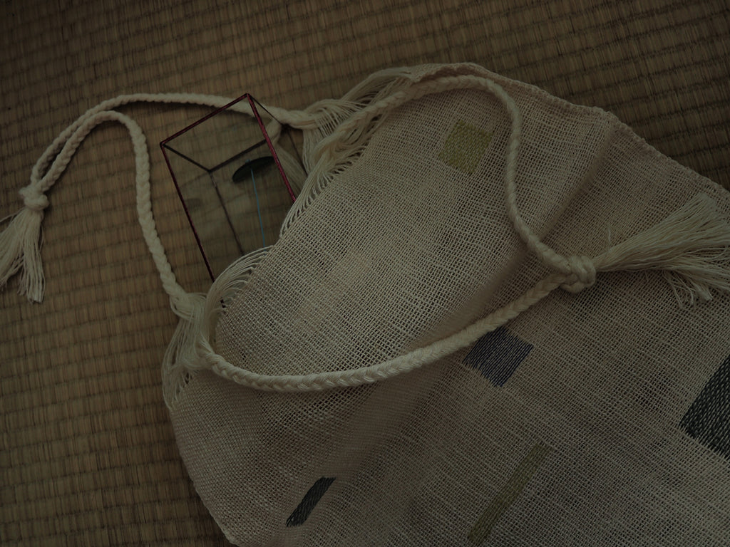 Hand Weaving Bag  II