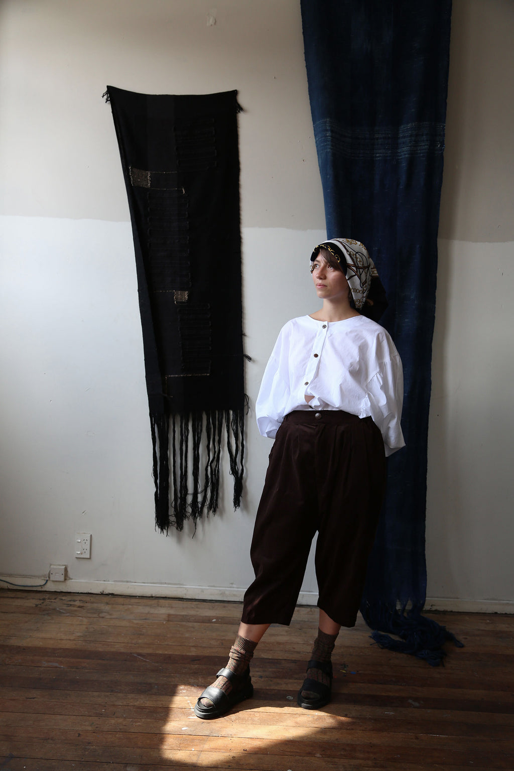 Kagura Top & Omokage Tapered Pants