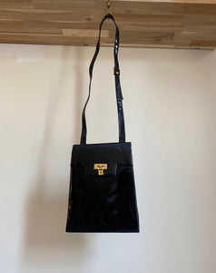 ebony crossbody purse