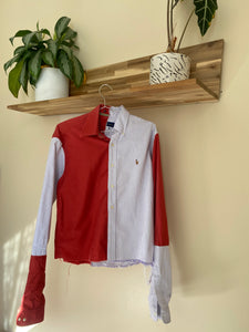 rustic button up