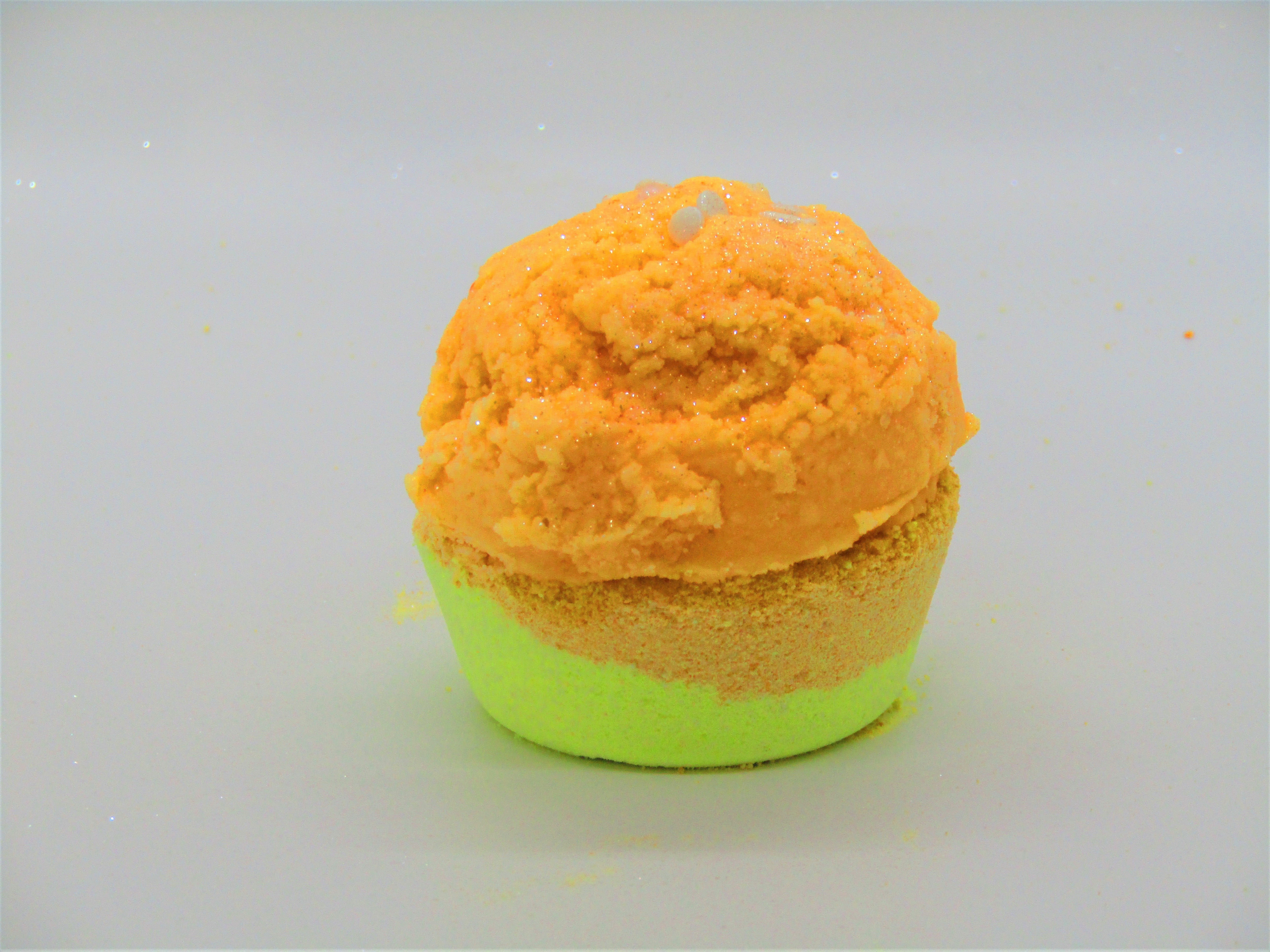 Mango Sorbet Frosted Bath Bombs
