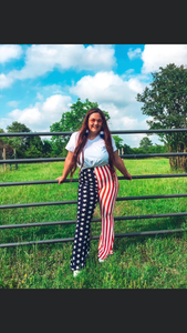Star Spangled Hammered Flares