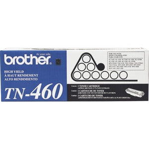 Brother TN460 Original Toner Cartridge - Laser - 6000 Pages - Black - 1 Each