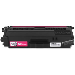 Brother TN336M Original Toner Cartridge - Laser - High Yield - 3500 Pages - Magenta - 1 Each