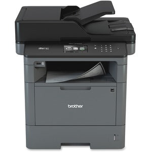 Brother MFC MFC-L5700DW Laser Multifunction Printer - Monochrome - Copier/Fax/Printer/Scanner - 42 ppm Mono Print - 1200 x 1200 dpi Print - Automatic Duplex Print - 1200 dpi Optical Scan - 300 sheets Input - Ethernet - Wireless LAN