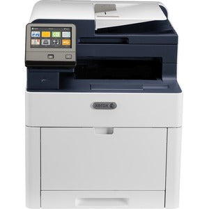 Xerox WorkCentre 6515/DNM Laser Multifunction Printer - Color - Copier/Fax/Printer/Scanner - 30 ppm Mono/30 ppm Color Print - 1200 x 2400 dpi Print - Wireless Duplex Print - 600 dpi Optical Scan - 300