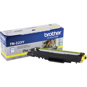Brother TN-223Y Toner Cartridge - Yellow - Laser - Standard Yield - 1300 Pages - 1 Each