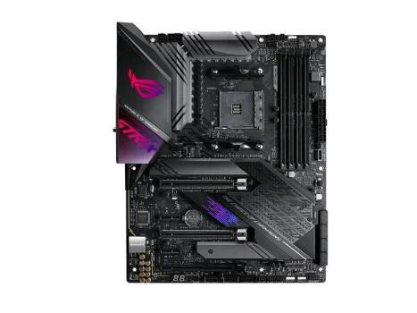 ASUS ROG X570 Crosshair VIII Hero (Wi-Fi) ATX motherboard with PCIe 4.0, on-board WiFi 6 (802.11ax), 2.5 Gbps LAN, USB 3.2, SATA, M.2, ASUS NODE and Aura Sync RGB lighting