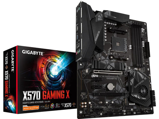 Gigabyte AMD B450 Gaming Motherboard with Hybrid Digital PWM, NVMe PCIe Gen3 x4 M.2, RGB FUSION 2.0, GIGABYTE Gaming LAN with Bandwidth Management, CEC 2019 ready