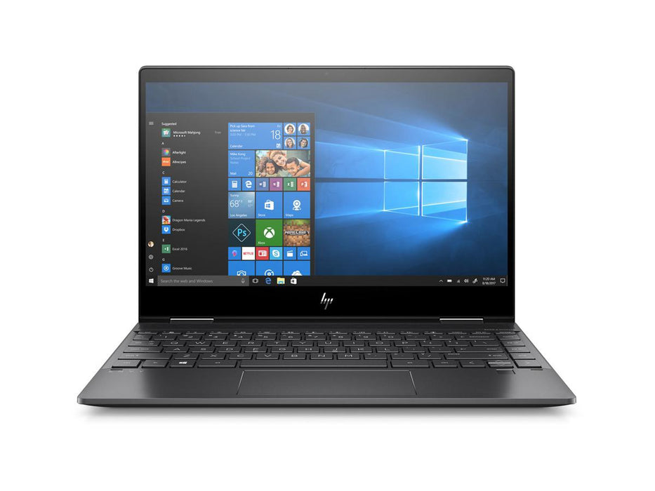 HP ENVY x360 Convertible 13-ar0001ca - AMD - AMD Ryzen 3 - 3300U - 2.1 GHz - DDR4 SDRAM - RAM: 8 GB - AMD Radeon Vega 6 - 13.3 Inch - 1920 x 1080 - Multi-touch - IEEE 802.11 b/g/n/ac, Bluetooth 4.2 - Microsoft Windows 10 Home - 4-cell - 1-year limited