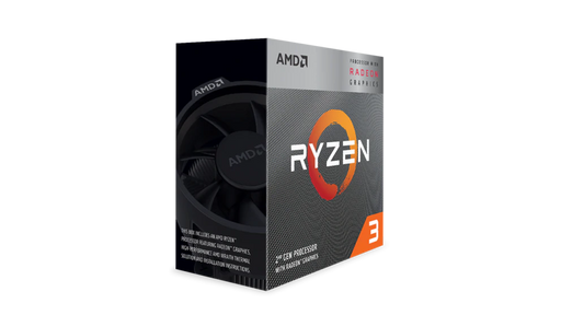 AMD Ryzen 5 3400G 4-Core/8-Thread Processor Socket AM4 3.7GHz/ 4.2GHz with Radeon RX Vega 11 Wraith Spire Cooler, 65W