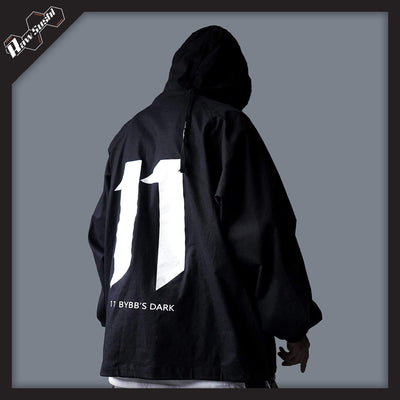 RawSushi Apparel Jackets / Coats Black / M AJV2.Urban.Printed:Coat