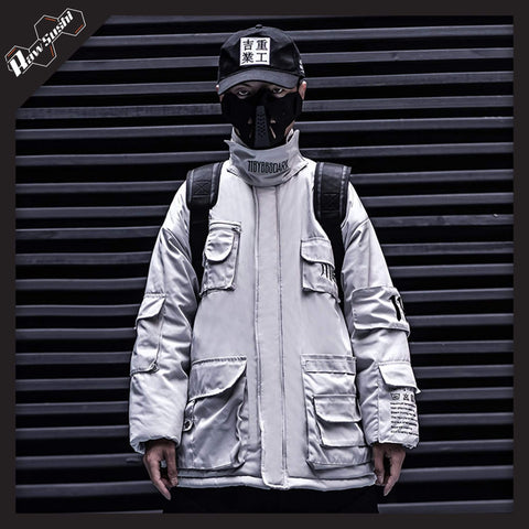 RawSushi Apparel Jackets / Coats White / M CKS4.Multi.Pocket:Jacket