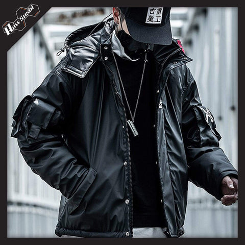 RawSushi Apparel Jackets / Coats XUW6.Hooded:Parka