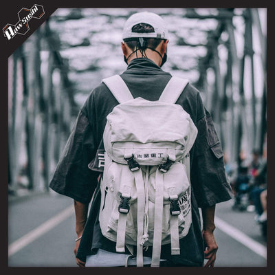 RawSushi Apparel Accessories White XXA2.Casual.Streetwear:Backpack