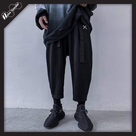 rawsushi Bottoms L PYP2.Embroidered.Streetwear.Sweatpants