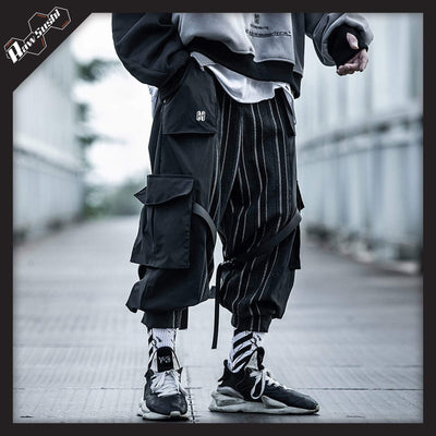 rawsushi Bottoms S VVL1.Striped.Cargo:Pants