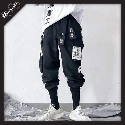 RawSushiApparel Bottoms Black / XL RSA5 Tactical Harajuku Multi Pocket Joggers