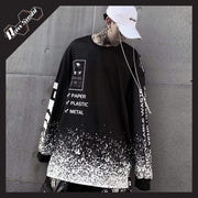 RawSushiApparel Sweatshirts M RSA9 Casual Long Sleeve Harajuku Sweater