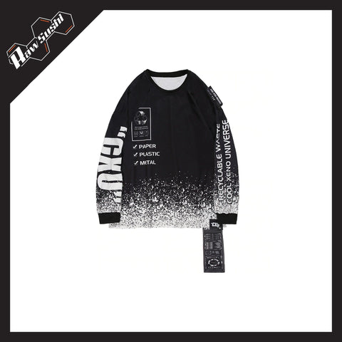 RawSushiApparel Sweatshirts RSA9 Casual Long Sleeve Harajuku Sweater