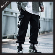 RawSushiApparel Bottoms Black / M RSB0 Harajuku Techwear Joggers With Large Side Pockets