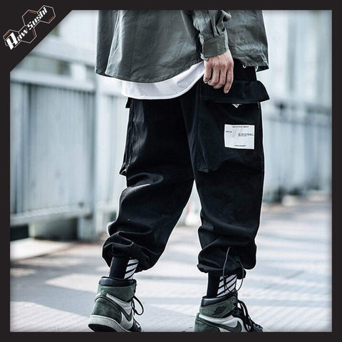 RawSushiApparel Bottoms RSB0 Harajuku Techwear Joggers With Large Side Pockets