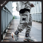 RawSushiApparel Bottoms Khaki / S RSB0 Harajuku Techwear Joggers With Large Side Pockets
