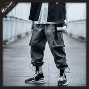 RawSushiApparel Bottoms Light Green / S RSB0 Harajuku Techwear Joggers With Large Side Pockets