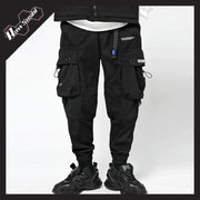 RawSushiApparel Bottoms BLACK / XL RSB1 Loose Reflective Cargo Pants