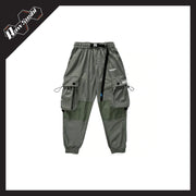 RawSushiApparel Bottoms GREEN / L RSB1 Loose Reflective Cargo Pants