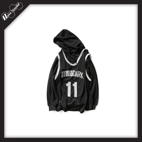 RawSushiApparel Hoodies Black / S RSB3 Casual Hoodie In Two Piece Optic