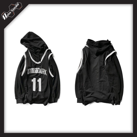 RawSushiApparel Hoodies RSB3 Casual Hoodie In Two Piece Optic